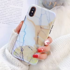 LAST 1! iPhone 7+/8+ Blu-Ray Marble Soft Case